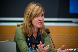 Face - Sarah Banet-Weiser speaking at #FoE5 | by GregPC
