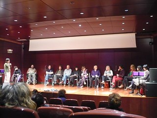 PyR 2011 in Madrid | Round table w/artists in competition | by Punto y Raya Festival