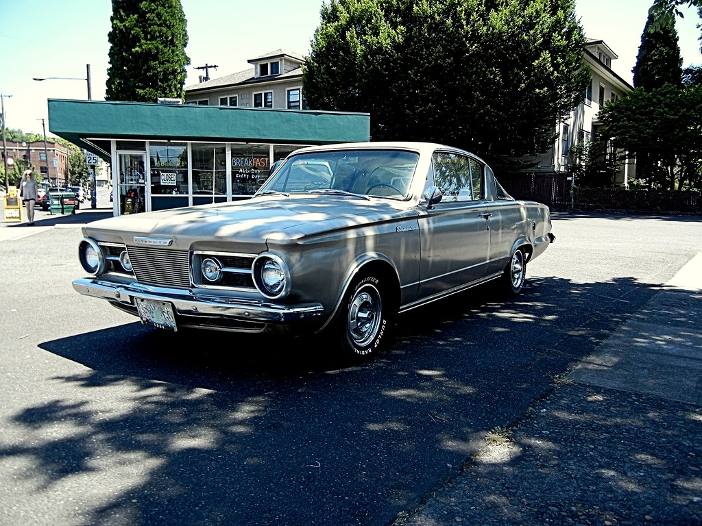 1964 Plymouth Valiant Barracuda - a photo on Flickriver