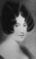 """Caroline Carleton who wrote the lyrics for """"The Song of Australia"""", date of portrait and artist unknown."""