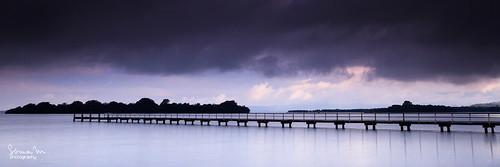 longexposure sunset panorama lake seascape storm water canon berkeley pier jetty smooth australia wharf nsw 7d illawarra soniamphotography