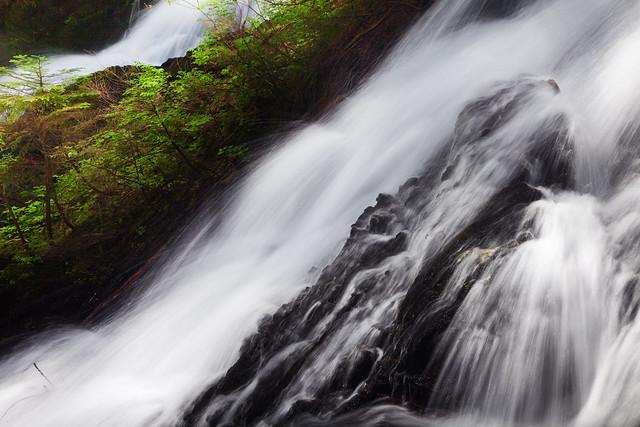Waterfall on Twentytwo Creek in Washington's Cascade Mountains