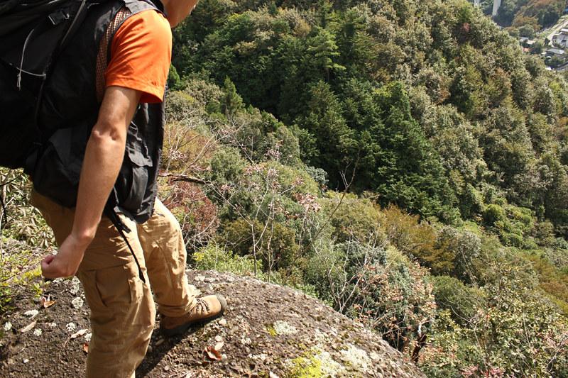 岩殿山登山