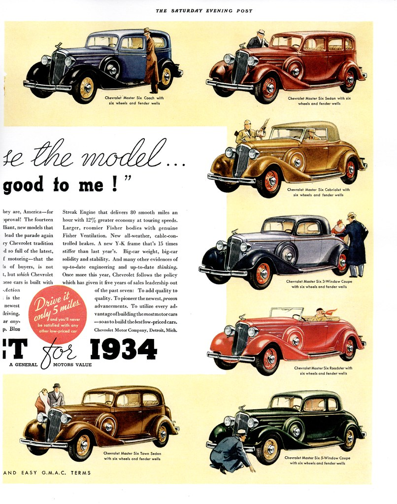 1934 Chevrolet Master Six (USA) p2   Typical of the Full-Lin…   Flickr
