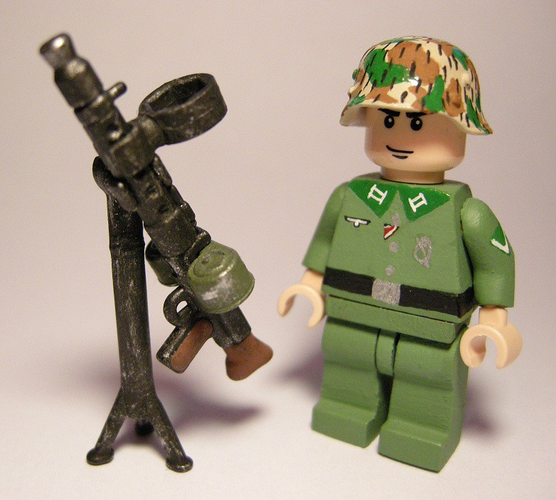 AA MG34 Brickarms WWII | So this is what I did with my doubl… | Flickr