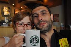 No som fans del Starbucks però aquest ens va anar molt bé
