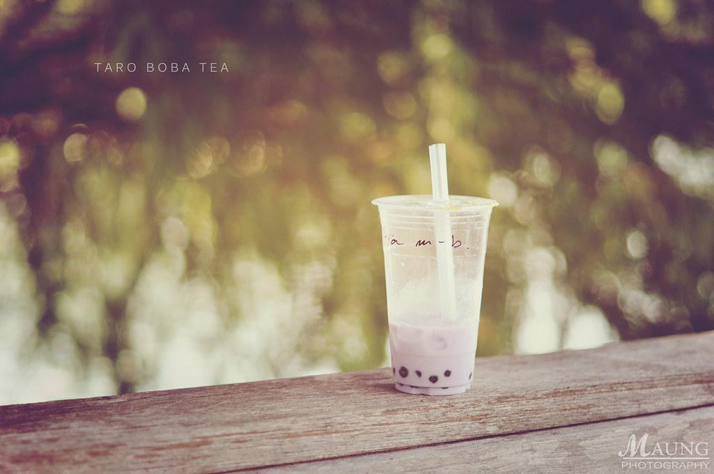 Taro Boba Tea
