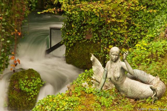 Wookey Hole Mermaid Waterfall