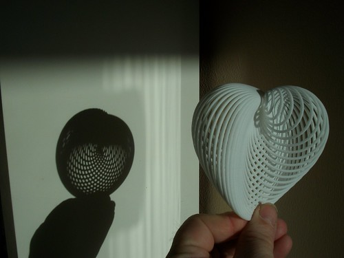 Shadow of a 3D cardioid | by fdecomite