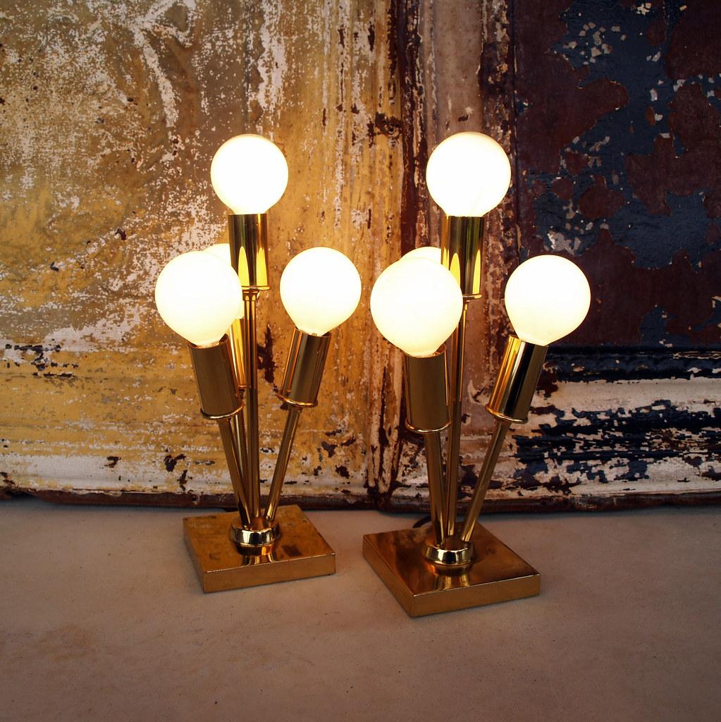 detailed look 1ce7d e7031 VINTAGE SPUTNIK LAMPS // Mid Century Modern Lamps /// Mid ...