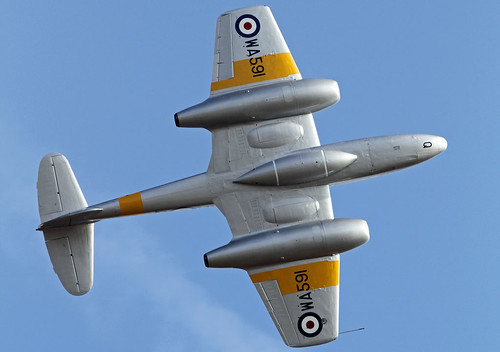 Gloster Meteor WA591   by MUSTANG_P51