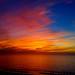 sunset a few minutes ago from Birch Aquarium by nhillgarth