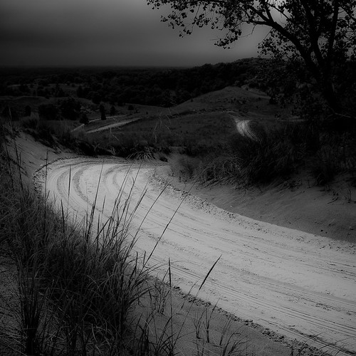 d5000 nikon saugatuck blackwhite branches bw clouds dunes grass hills landscape monochrome noahbw road sand sky square trees explored blackandwhite cloudsskiesandsuch