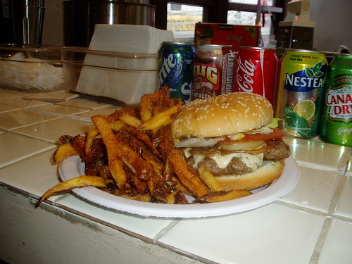 Burger and fries | by Willysfreshcut.ca