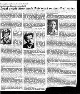 Reedsburg & Hollywood Part 2 | by Reedsburg Public Library