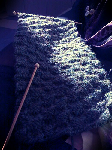 Scarf in progress | by epersonae