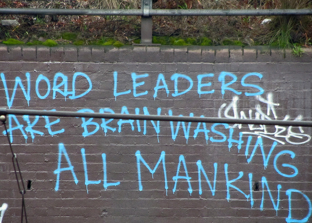 WORD LEADERS ARE BRAINWASHING ALL MANKIND"