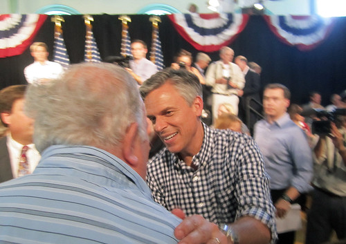 Jon Huntsman in Exeter | by New Hampshire Public Radio