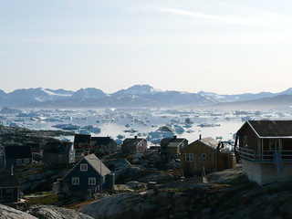 Typical East Greenland village | by Kitty Terwolbeck