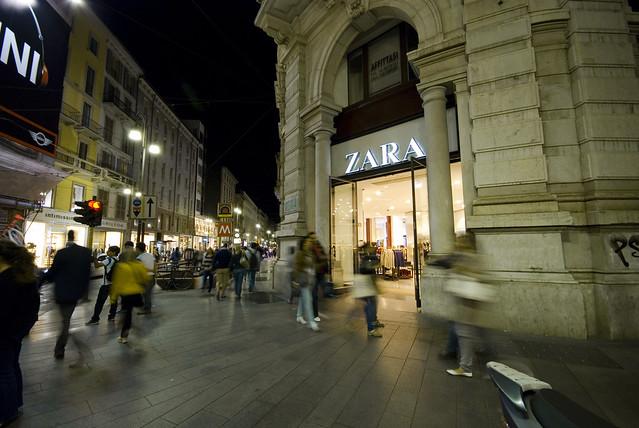 Shopping at the corner