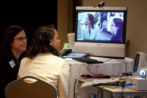 Live telehealth demonstration ... | by CiscoANZ