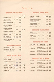 ciros menu back | The World Famous Comedy Store | Flickr
