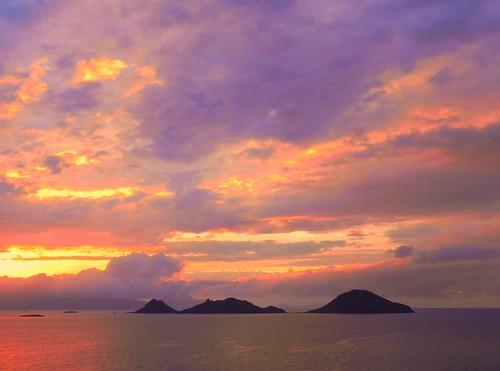 sea clouds turkiye deniz bulutlar bodrum turgutreis balkonumdan cataladasi