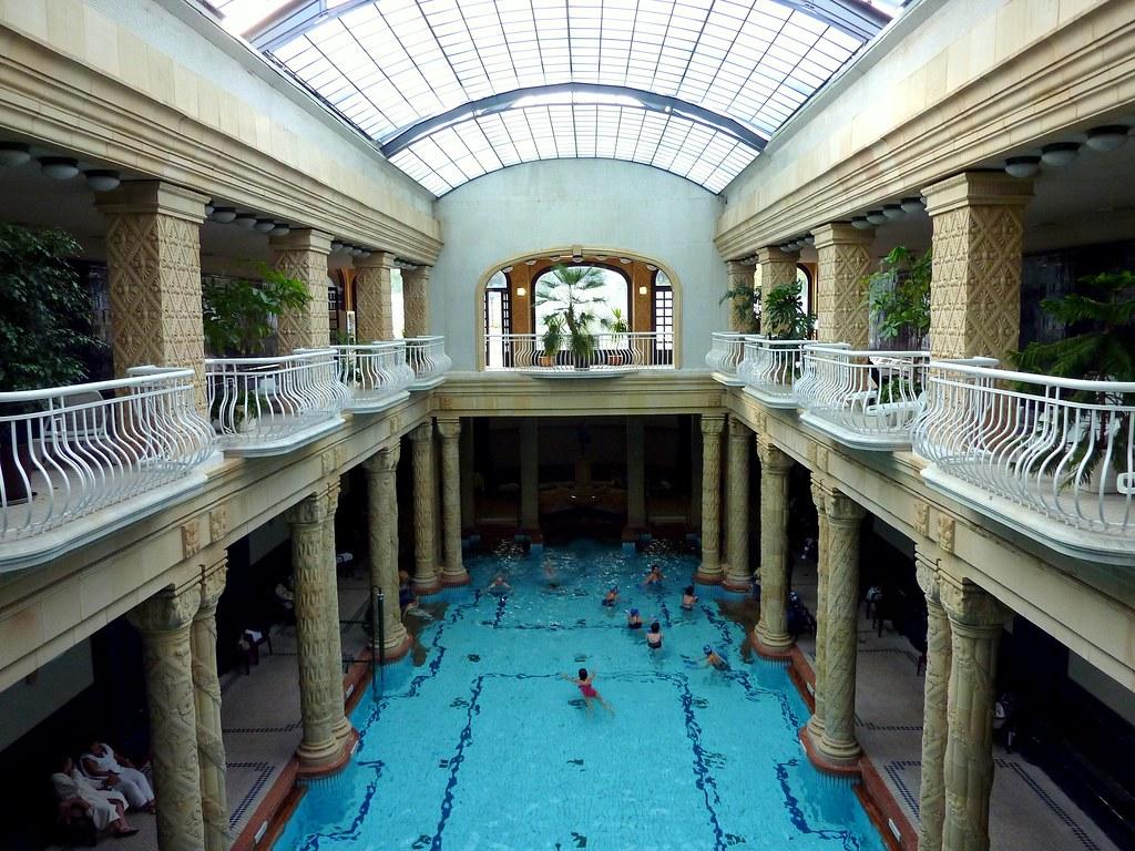Banos Gellert.The Swimming Pool At The Gellert Baths In Budapest Flickr