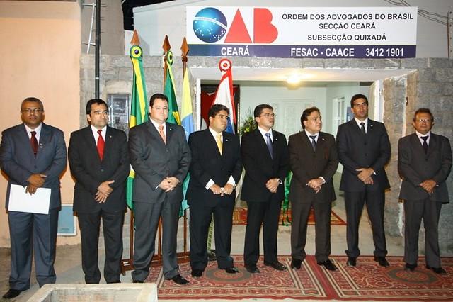 Inauguração da nova sede Subsecção de Quixadá 09.11.2011