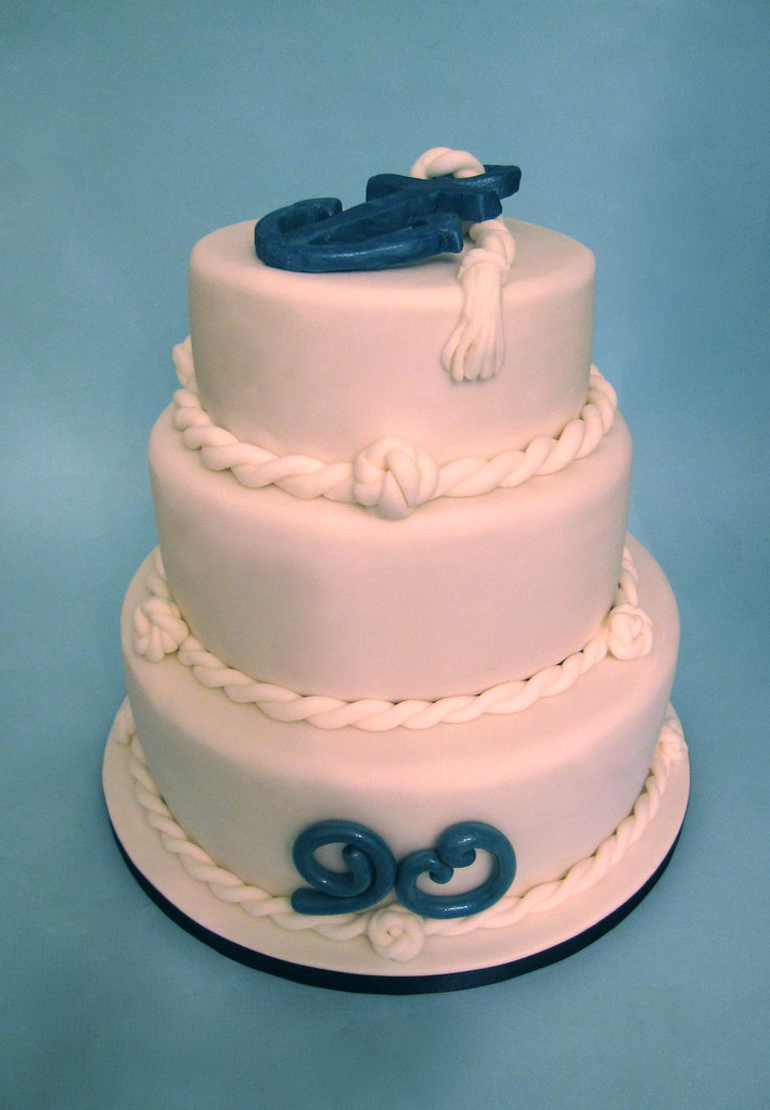 Wondrous 90Th Birthday Cake Royal Navy Theme This Is A 90Th Birth Flickr Funny Birthday Cards Online Inifodamsfinfo