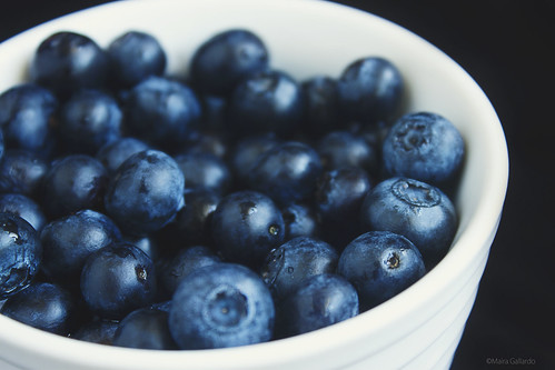 + Blueberries. | by maira.gall
