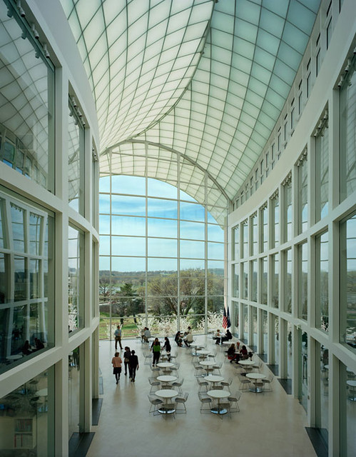 United States Institute of Peace, architecture: Moshe Safdie, photo via designboom
