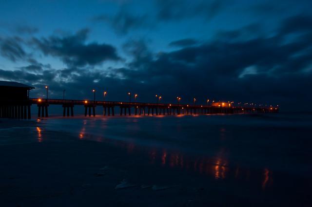 Gulf Shores Pier--Dawn