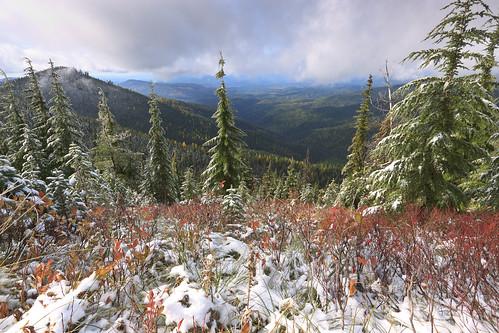 snow mountains scenicviews grandmothermountain idahopanhandlenationalforests
