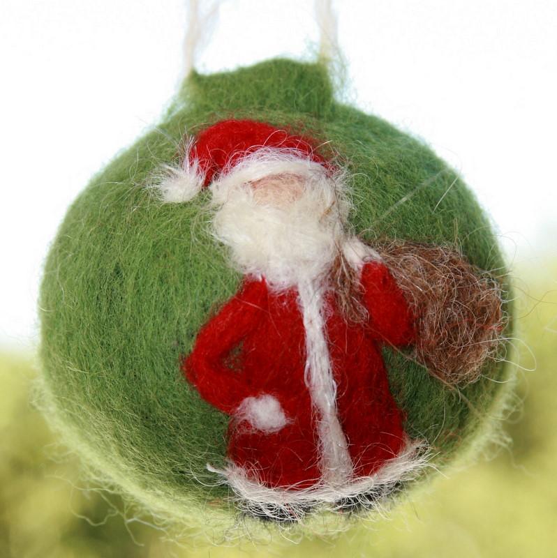 Needle Felted Christmas Ornament Holly Shabtai Flickr