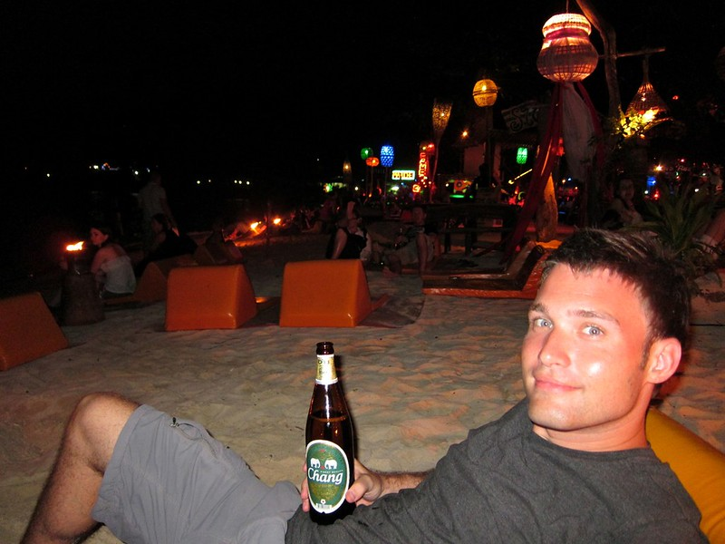 Nightime on Koh Phi Phi Don