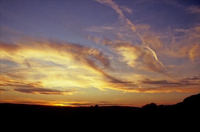 sponds hill sunset