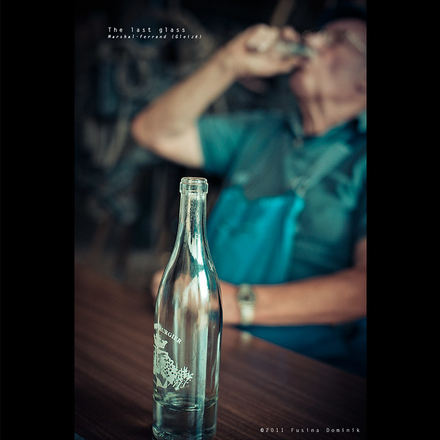 The last glass | The Farrier