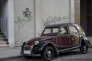 1982 Citroën 2CV Charleston