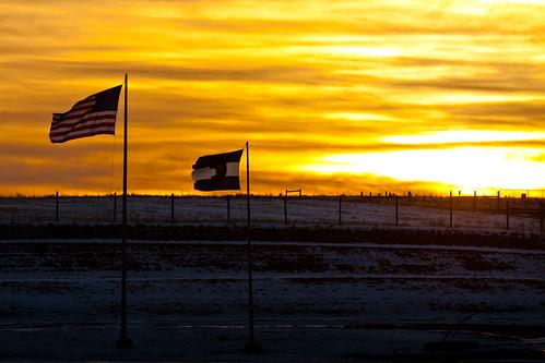 sun sunrise canon eos colorado flags 50d