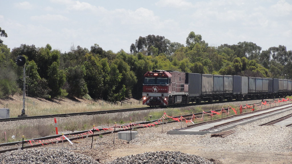 Goods train by Ryan Smith
