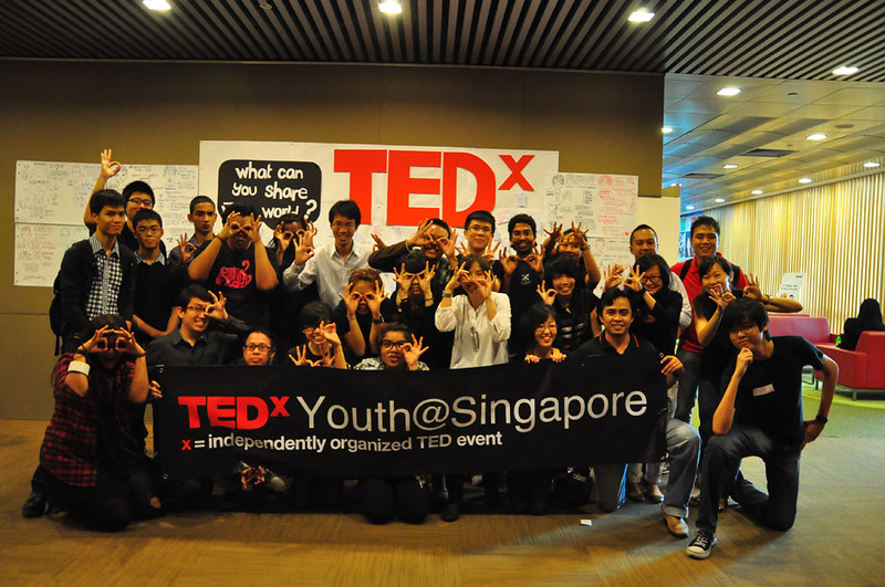 Greetings from TEDxYouth@Singapore