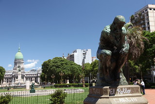 "Auguste Rodin's ""The Thinker"" 