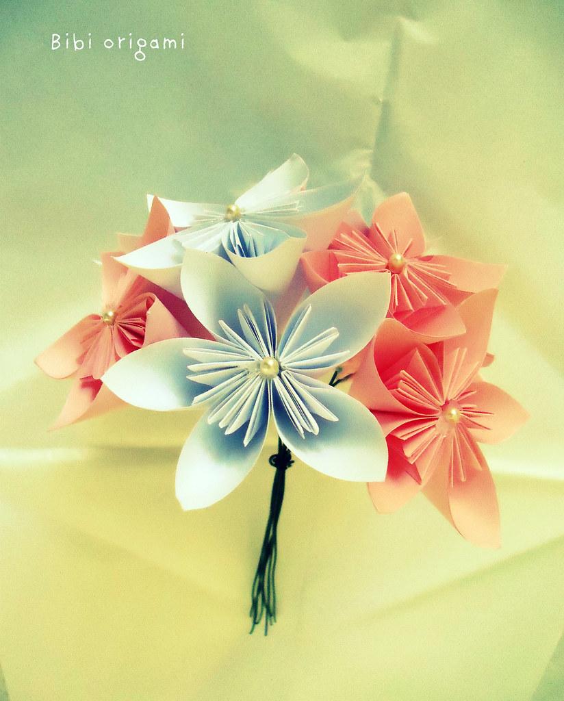Fiori Composti.Mazzolino Fiori Composti Bibi Origami Flickr