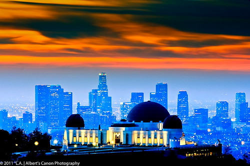 skyline eos losangeles observatory hollywood digitalphotography 101landscape hollywoodhighlandcenter canonrebelt2i albertvalles singsunrisecloudsfreeway photographygriffith
