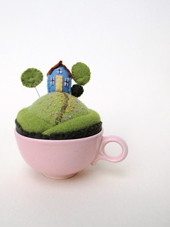 tiny world in pink