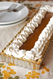 Bourbon Pumpkin Tart with Streusel Topping | by Smells Like Home