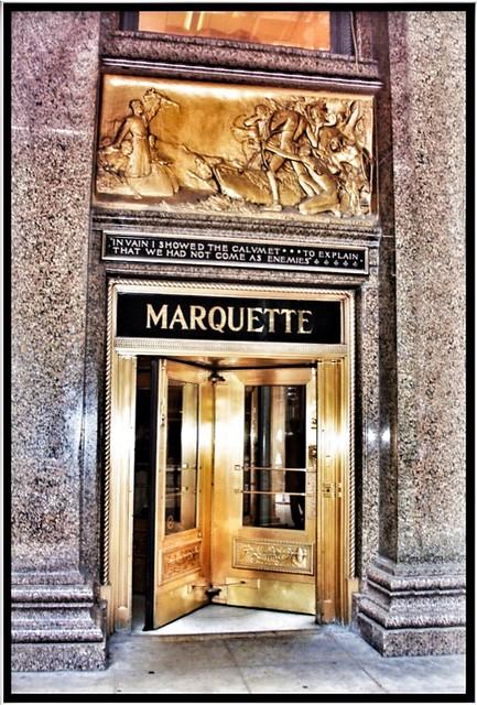 Marquette Building ~ Chicago IL ~ Entrance