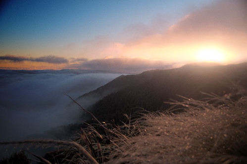 sunset newzealand cloud sun mist mountain wet clouds nikon hiking zealand nz wellington powell labour tramping hdr highdynamicrange tararuas holdsworth d90 mtholdsworth powellhut nikond90 markwr markwhiterobinson mwhiterobinson