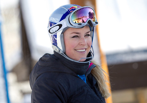 Lindsay Vonn Training in Vail Colorado | by snowbuzz